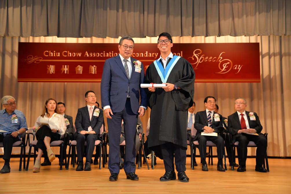 潮州會館中學的第三十屆畢業典禮相片集 (26/05/2018)相片63