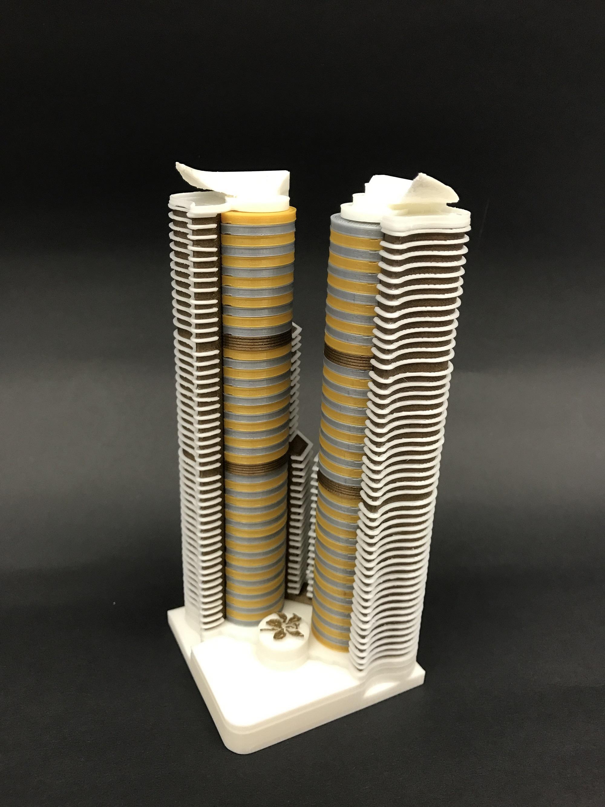 天主教慈幼會伍少梅中學的3D打印比賽銀獎 - 迷人的維港相片10