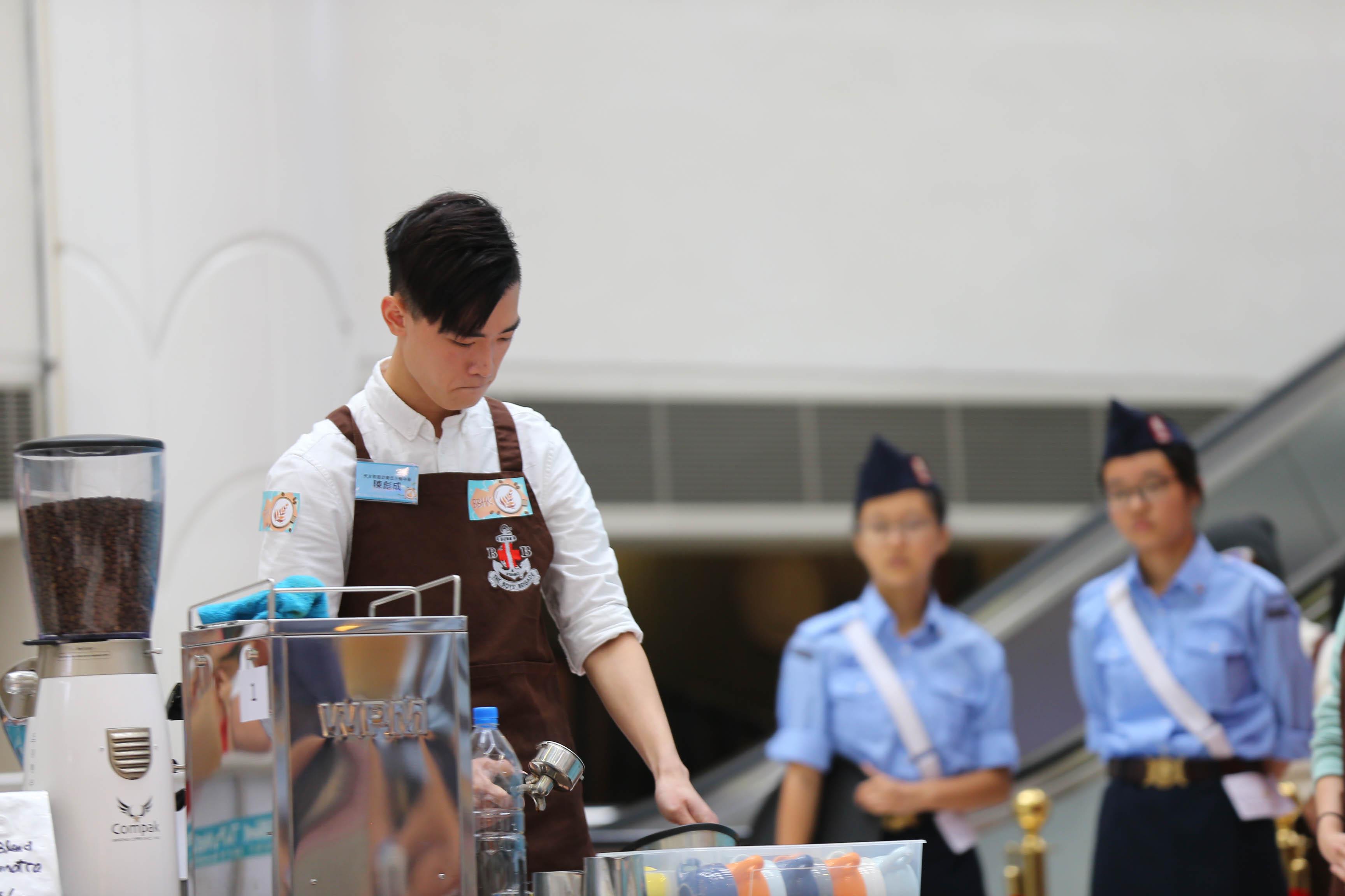 天主教慈幼會伍少梅中學的全港學界咖啡拉花比賽2016 相片2