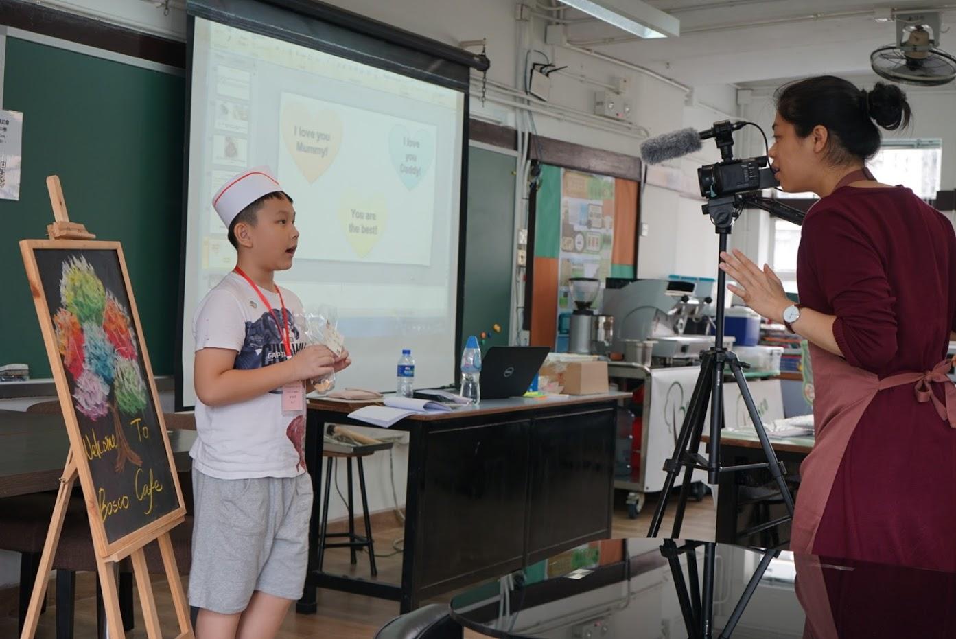 天主教慈幼會伍少梅中學的中學生活體驗日 - 活動精華相片8