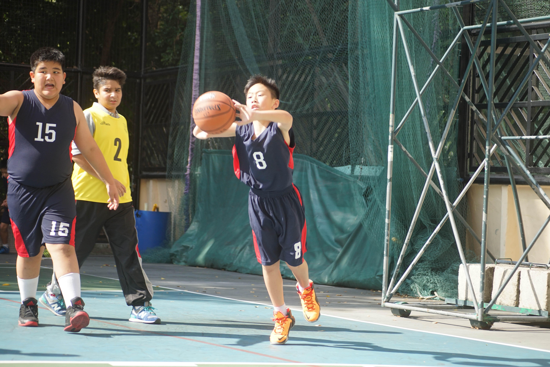 天主教慈幼會伍少梅中學的小學籃球賽相片5