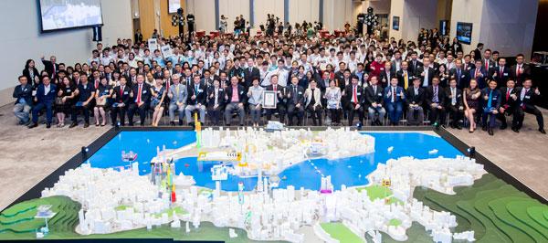天主教慈幼會伍少梅中學的3D打印比賽銀獎 - 迷人的維港相片4