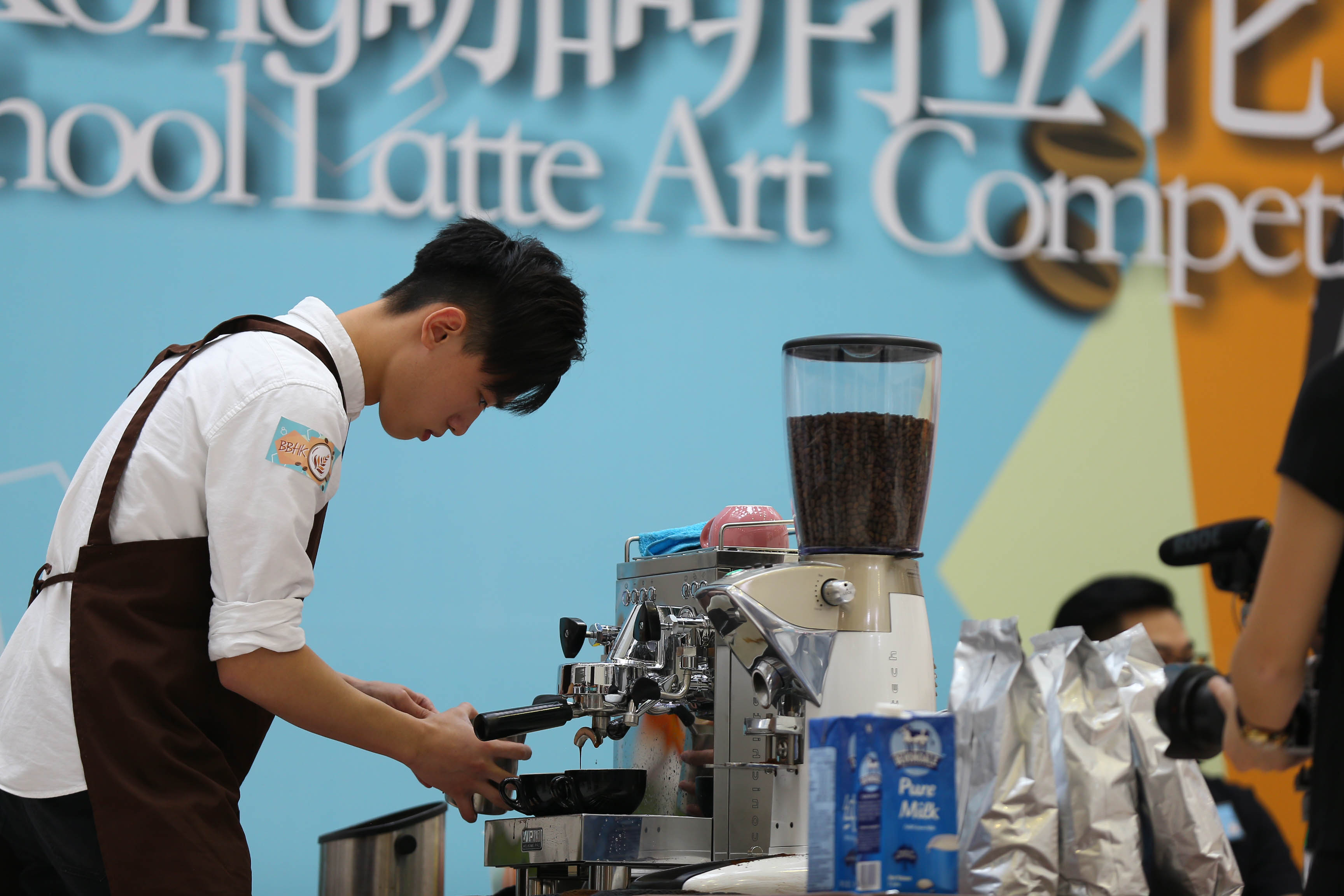 天主教慈幼會伍少梅中學的全港學界咖啡拉花比賽2016 相片4