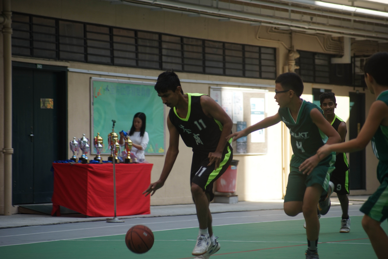 天主教慈幼會伍少梅中學的小學籃球賽相片17