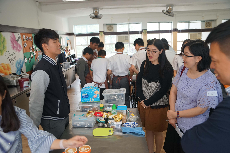 天主教慈幼會伍少梅中學的教育局來訪生涯規劃活動相片6