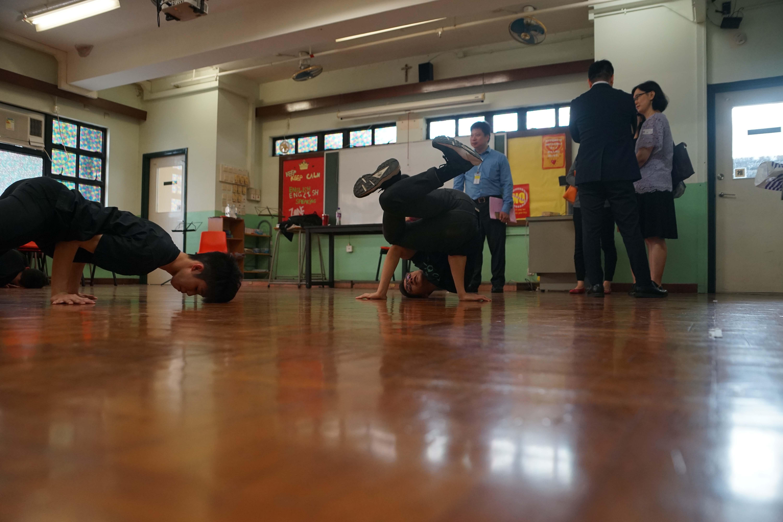 天主教慈幼會伍少梅中學的教育局來訪生涯規劃活動相片3
