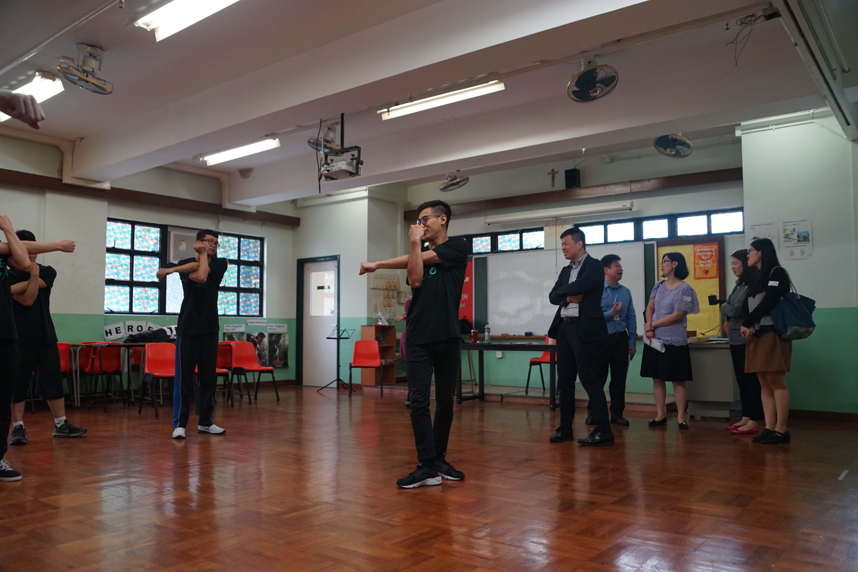 天主教慈幼會伍少梅中學的教育局來訪生涯規劃活動相片2