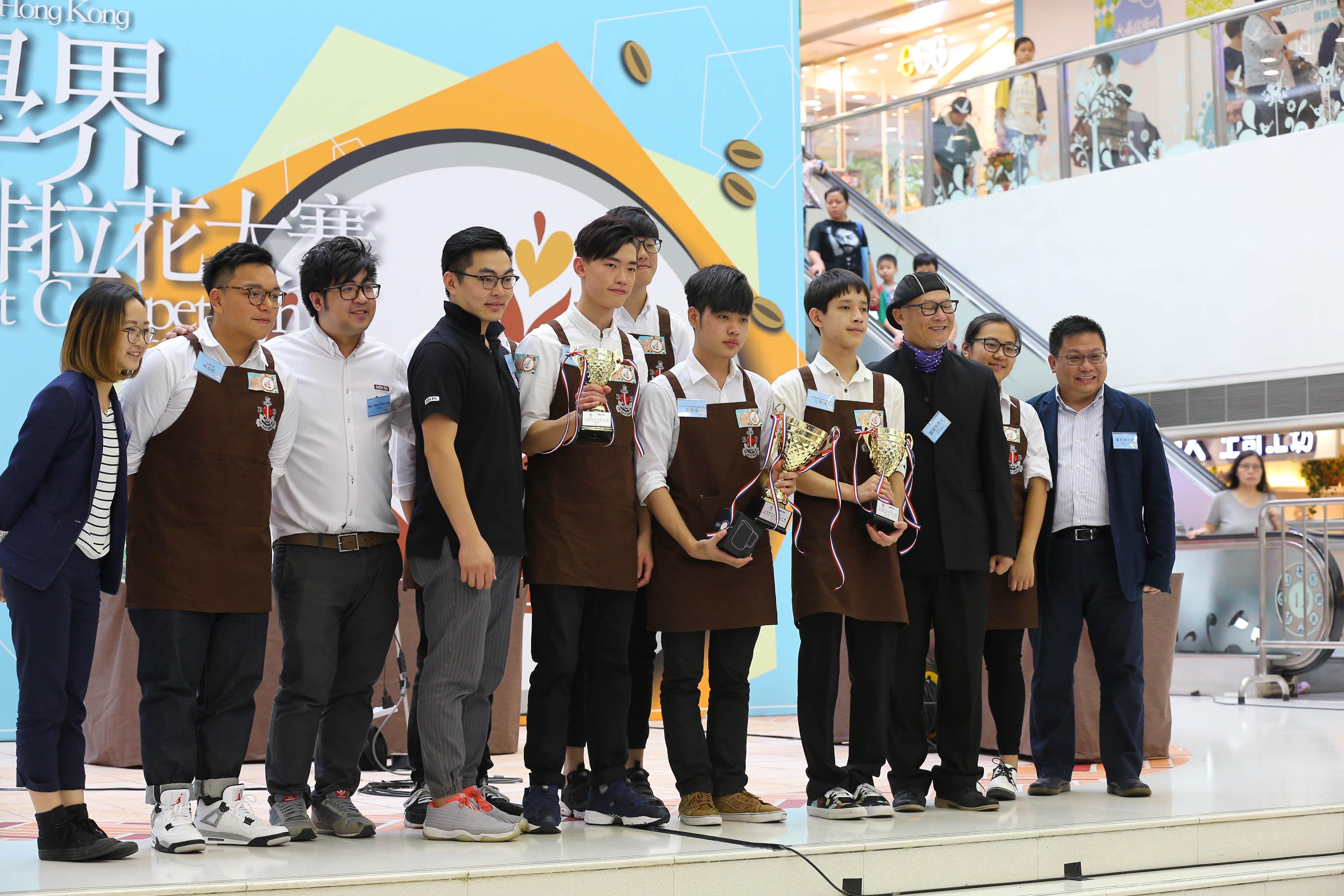 天主教慈幼會伍少梅中學的全港學界咖啡拉花比賽2016 相片7