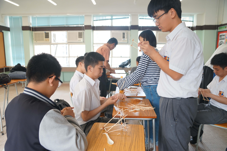 天主教慈幼會伍少梅中學的教育局來訪生涯規劃活動相片10