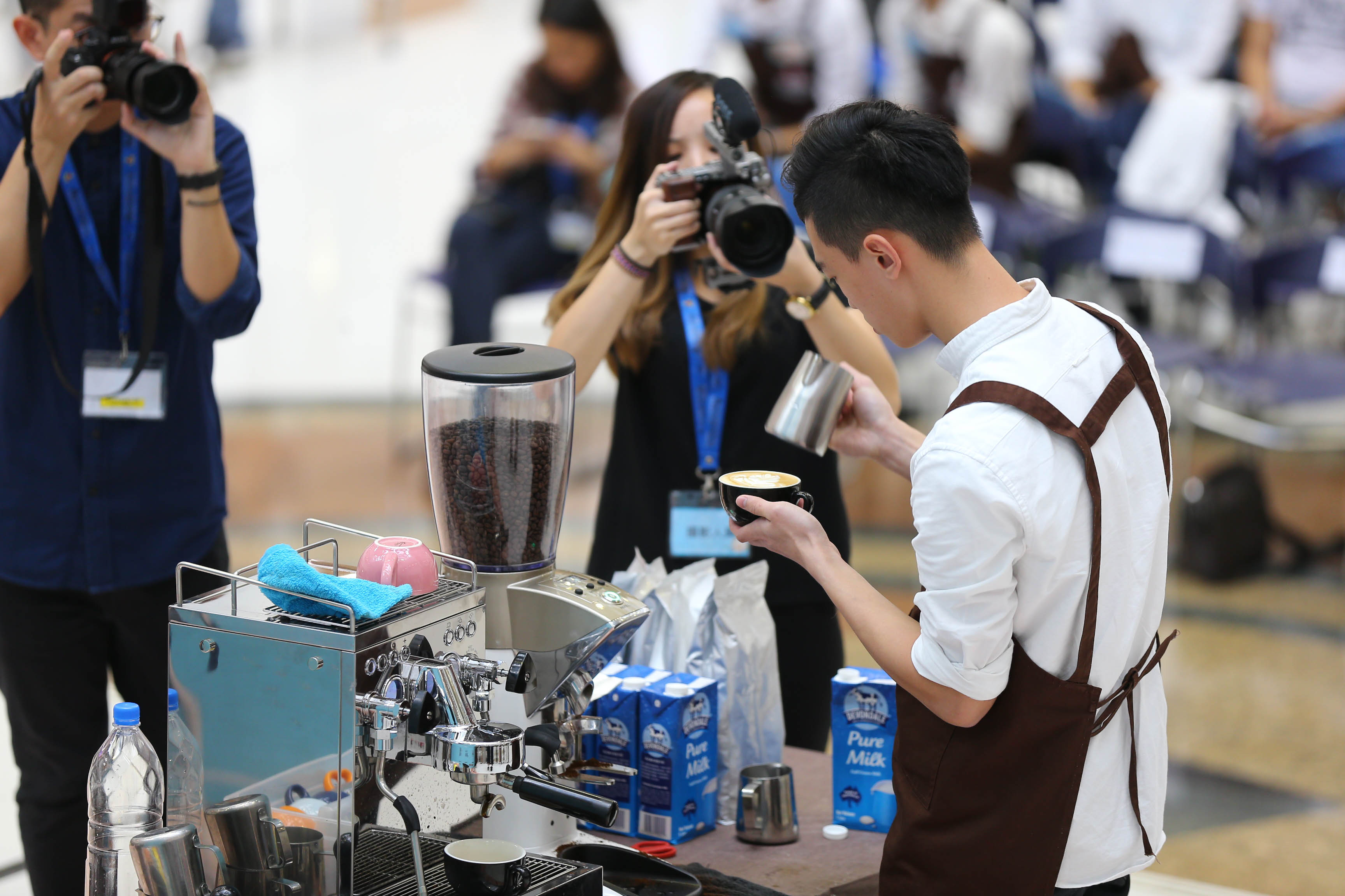 天主教慈幼會伍少梅中學的全港學界咖啡拉花比賽2016 相片5