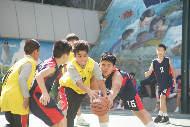 天主教慈幼會伍少梅中學的小學籃球賽相片4