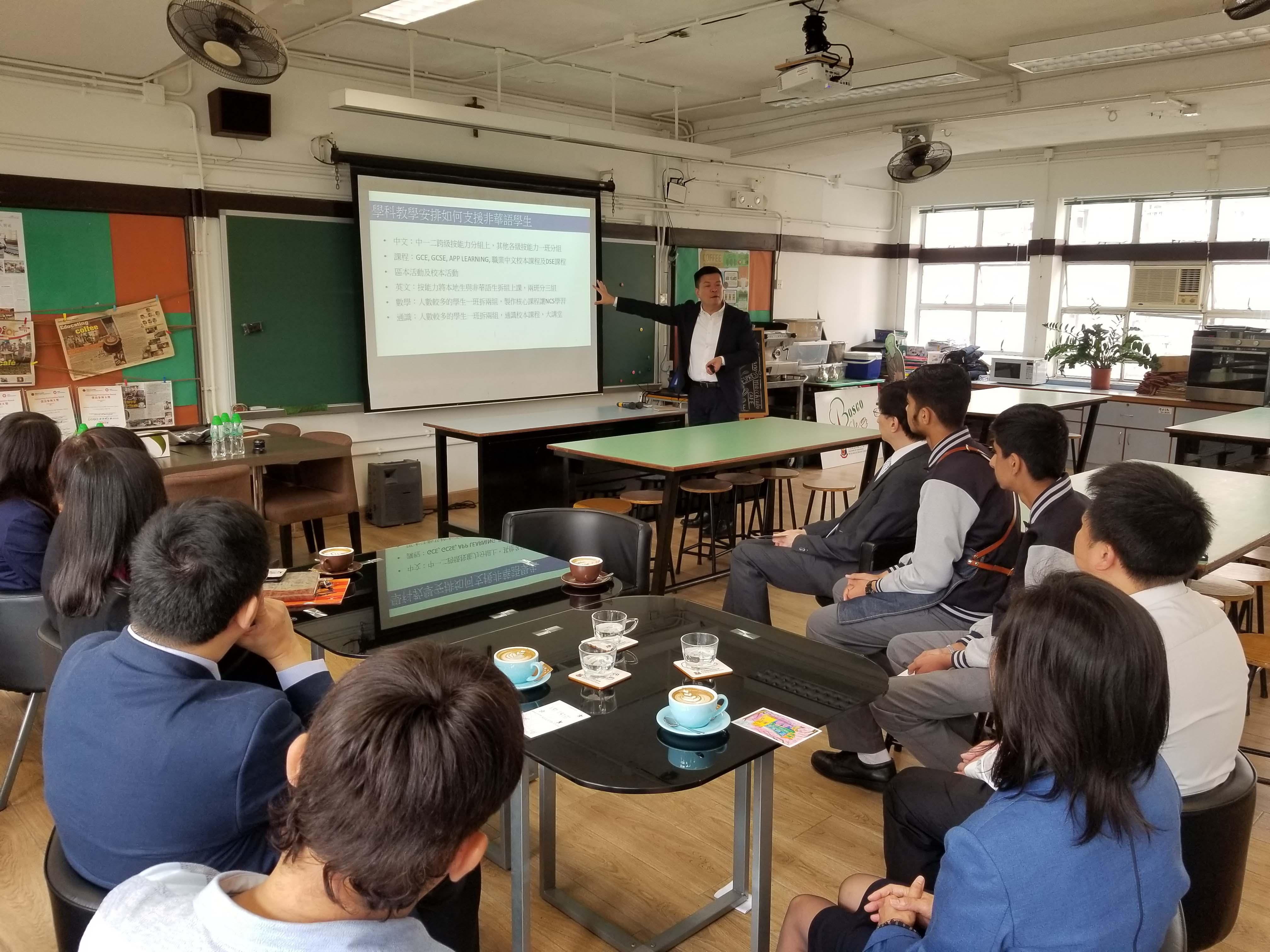 天主教慈幼會伍少梅中學的蔡海偉先生來訪相片3